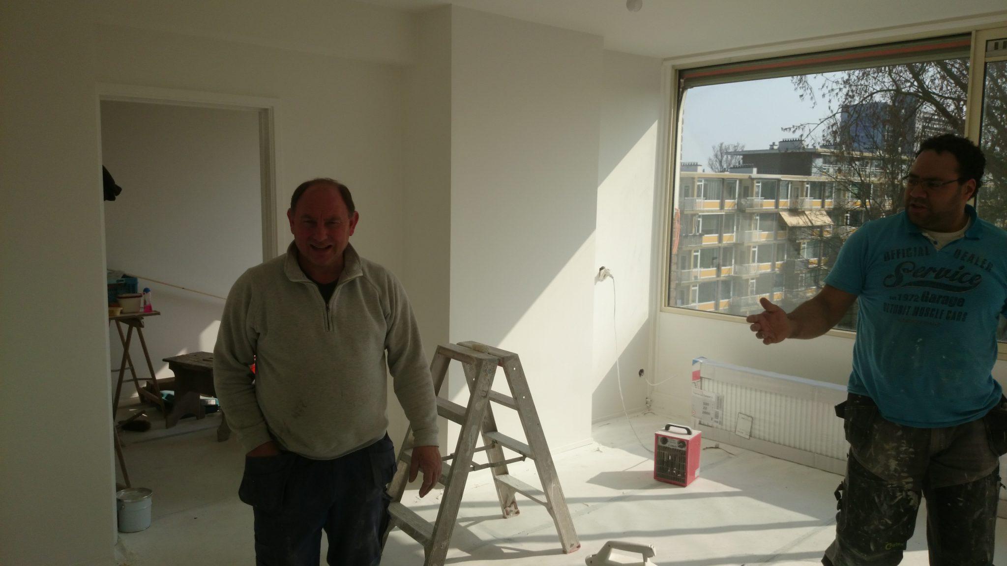 Renovatie compleet appartement