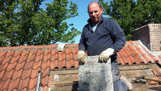 Schoorsteen reparatie en dak