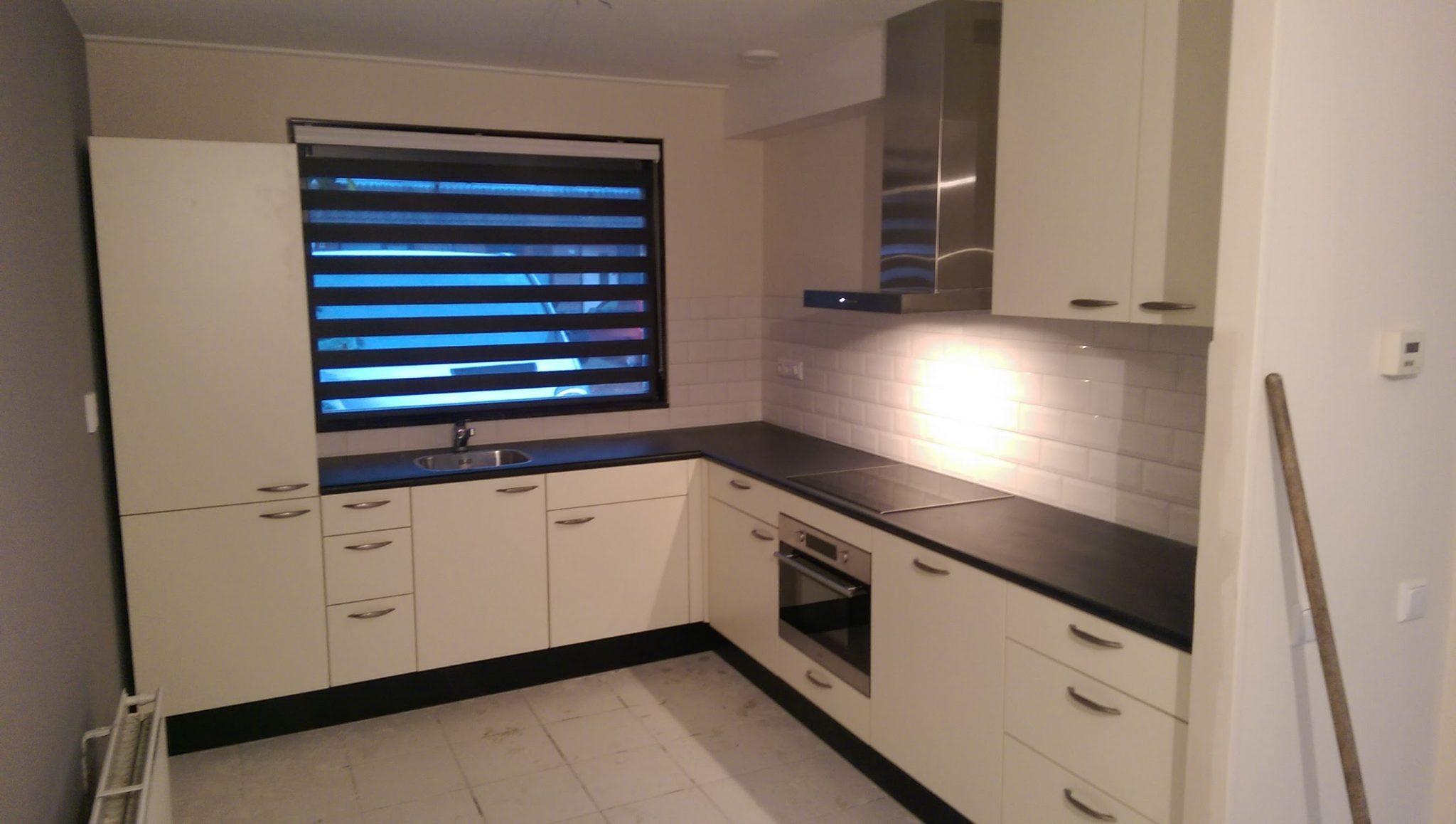 Nieuwe keuken in Amstelveen