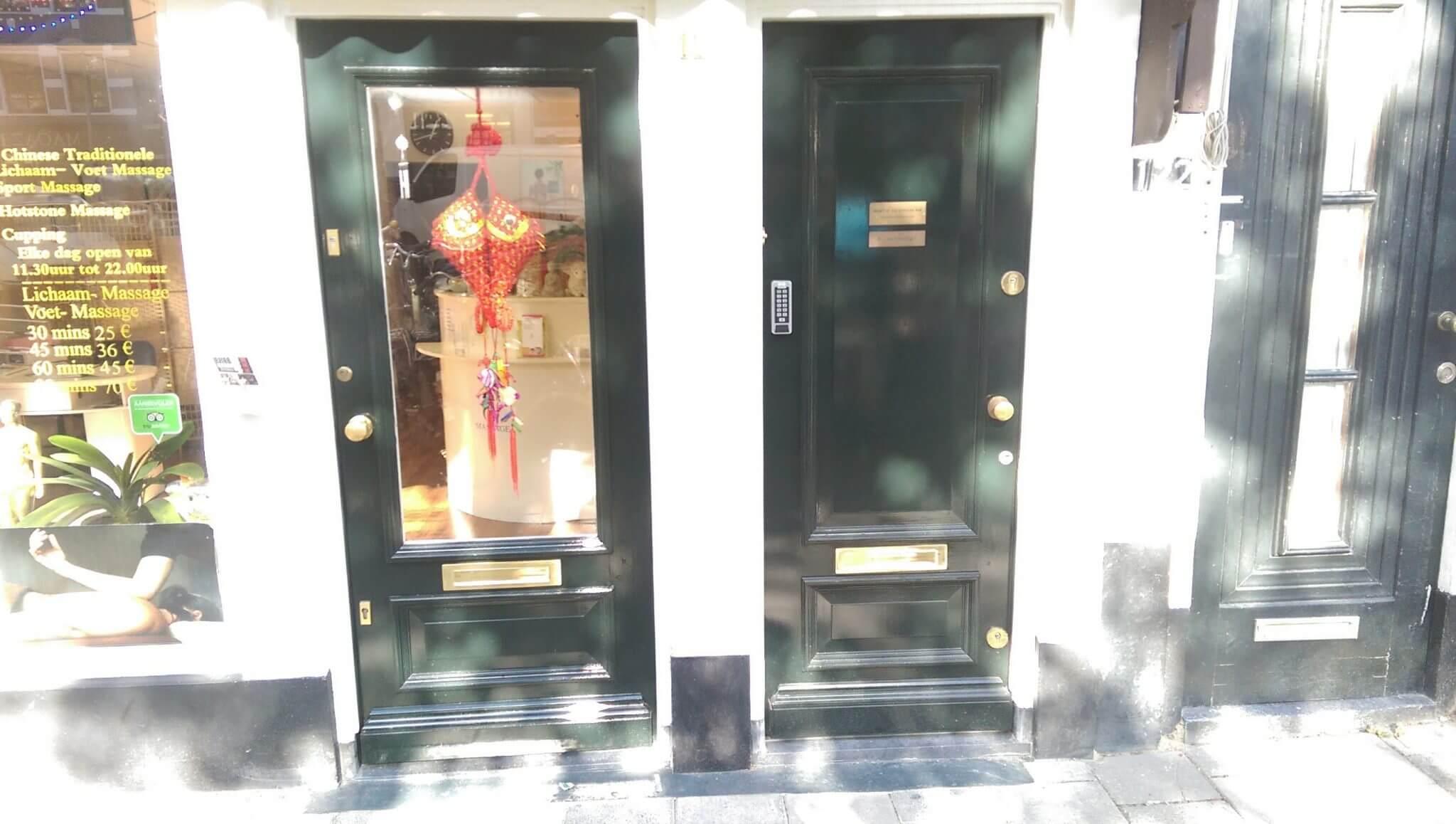 Klassieke voordeur op maat