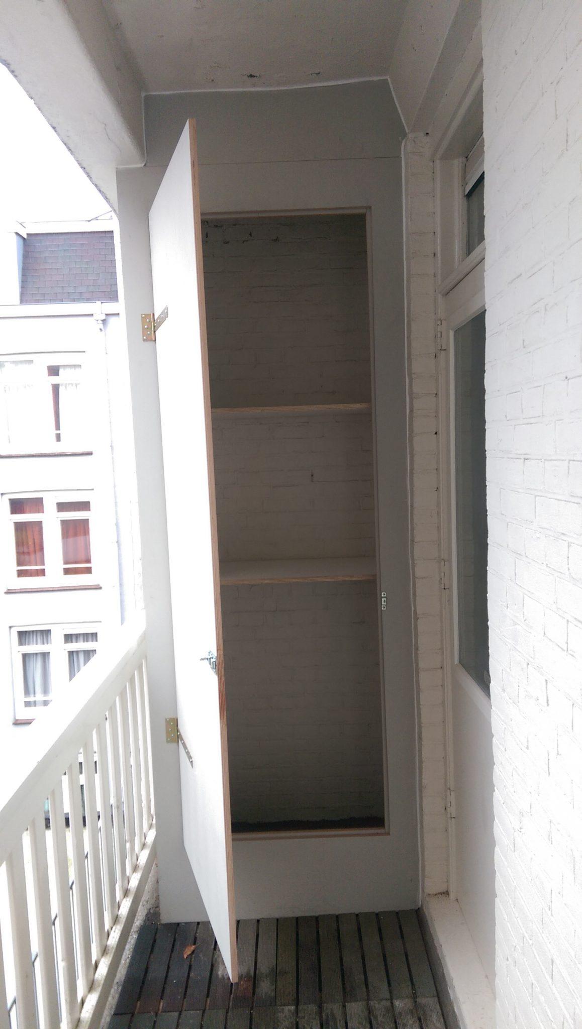 Balkonkast op maat gemaakt