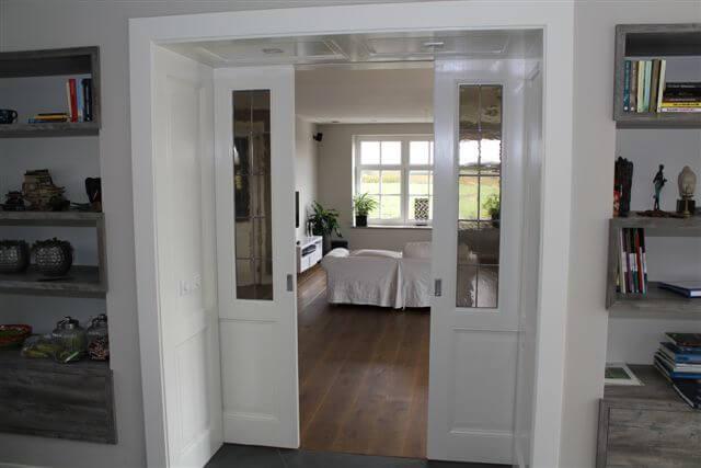 Extra kamer gemaakt door schuifwand op de Zuidas - Alderbouw.nl