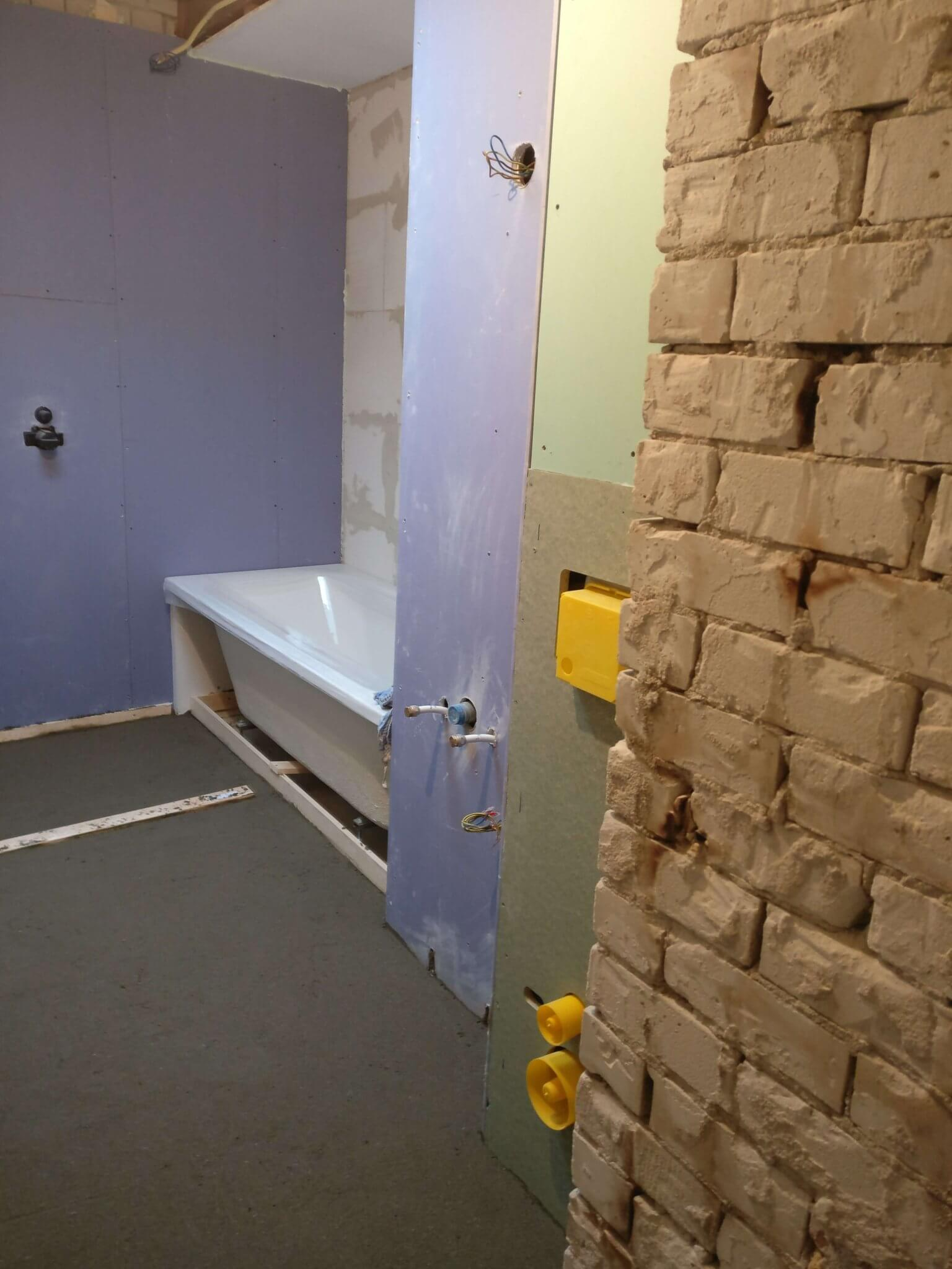 Totale badkamer verbouwing