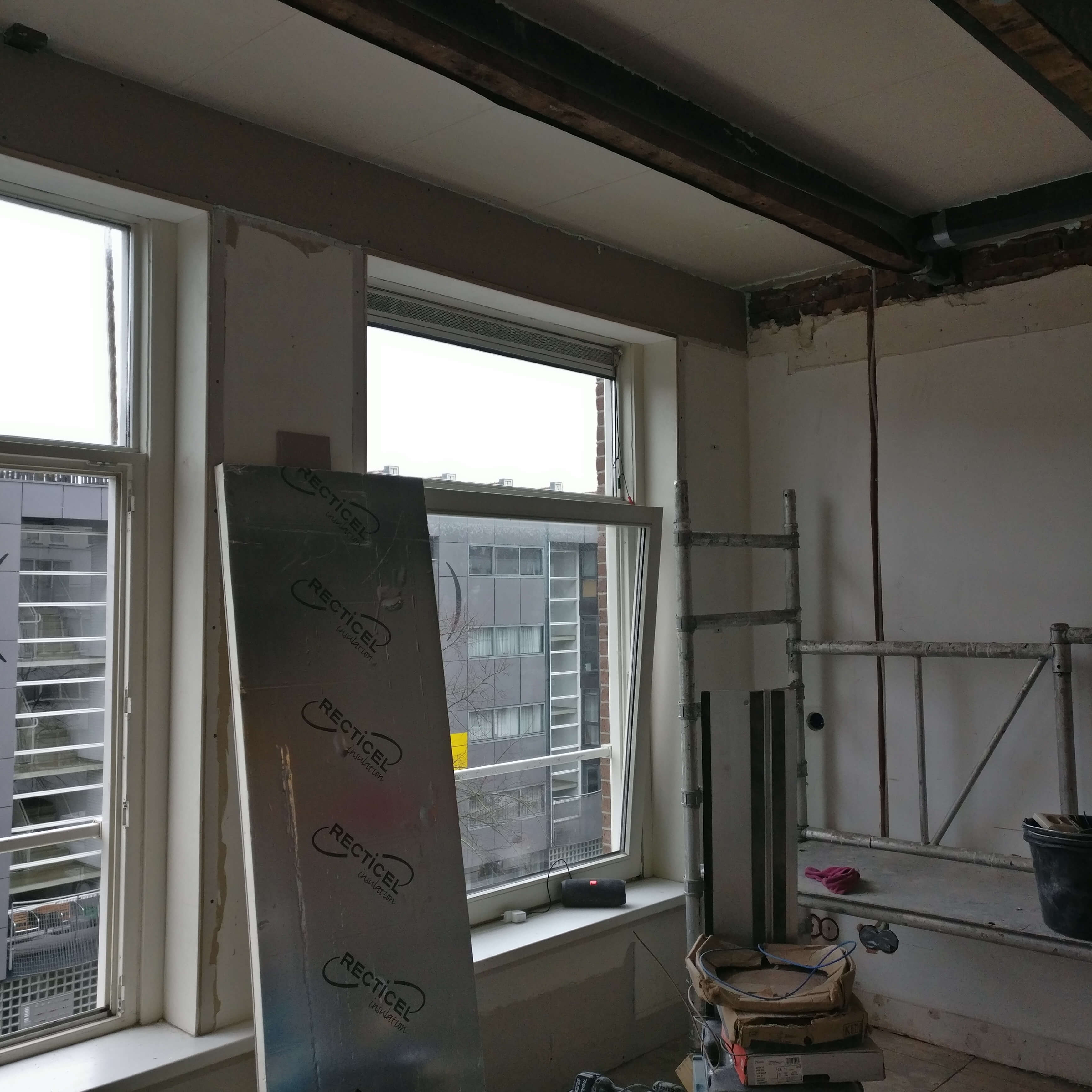 Isolatie plafond duurzaam energie besparen