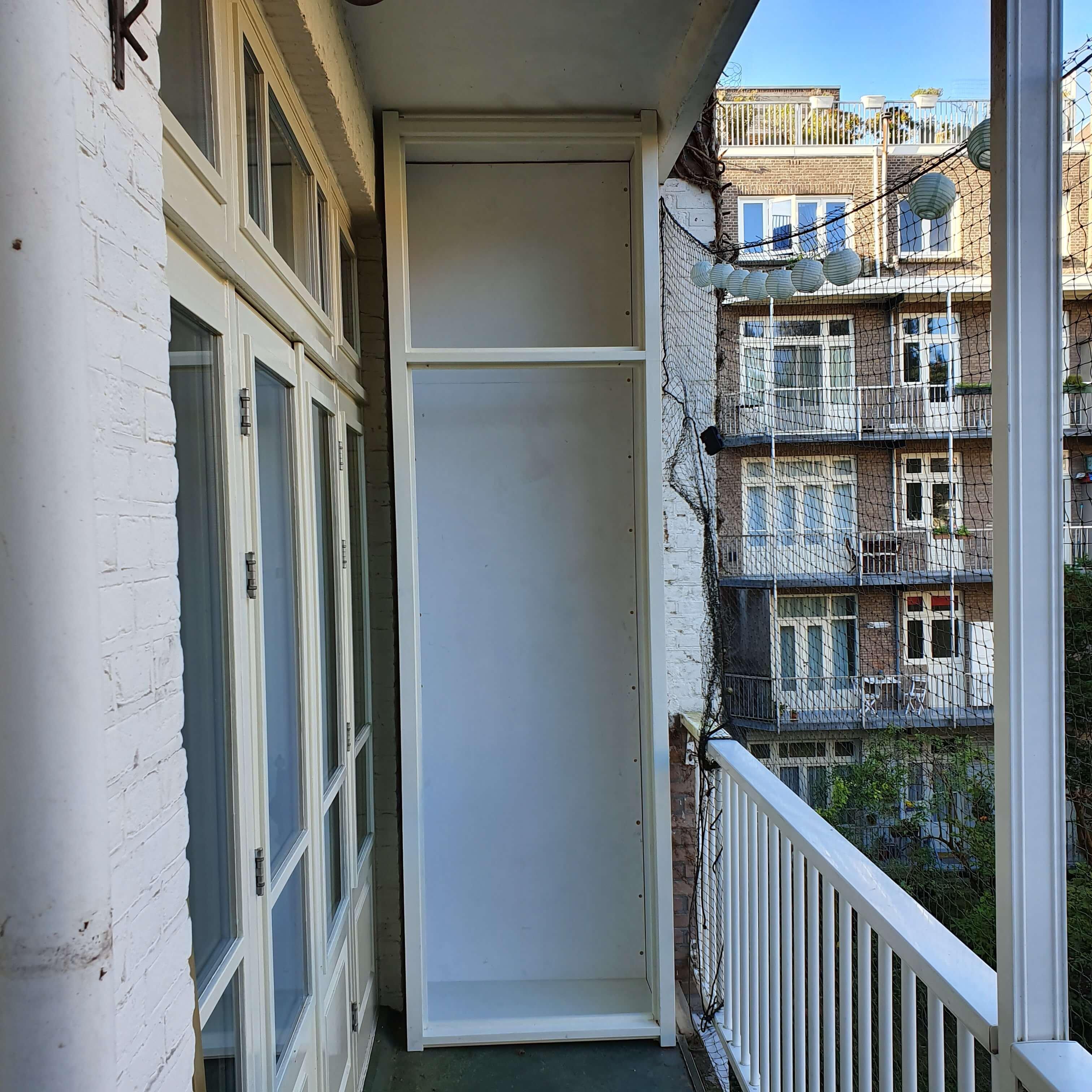 Kwaliteit balkonkast Amsterdam