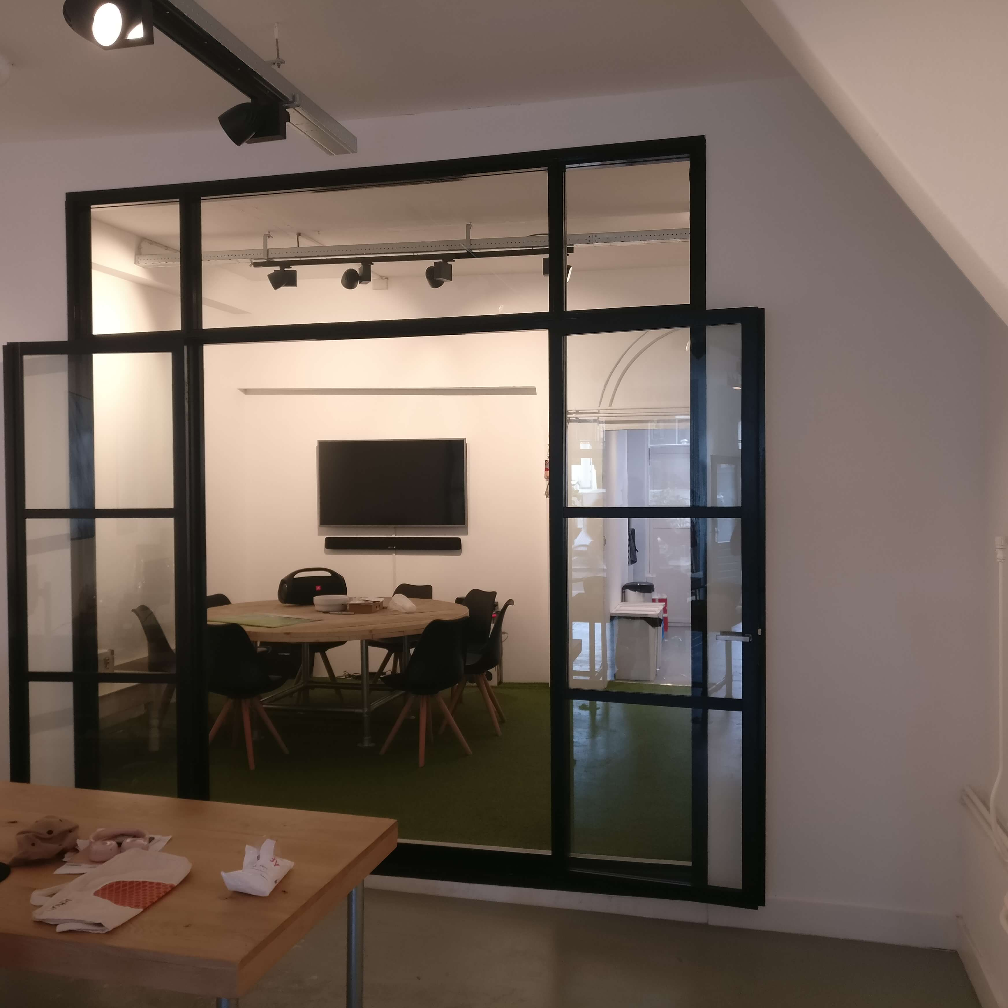 Design kozijn grachtenpand Amsterdam